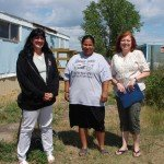 Kelly, Mary (Wiconi Wakan), and Bonnie